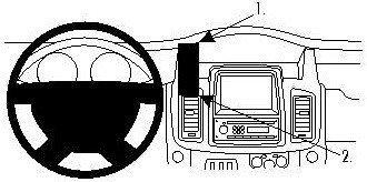 ProClip do Opel Vivaro 11-14