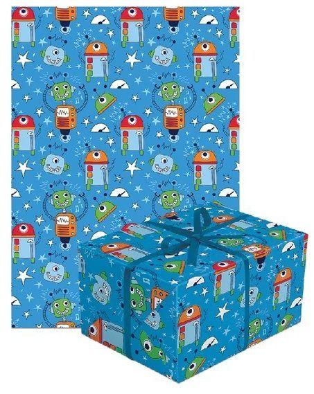 Papier do pakowania prezentów roboty 1 rolka 70x200cm PAPIER-3