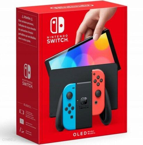 Konsola Nintendo Switch OLED Model Red & Blue