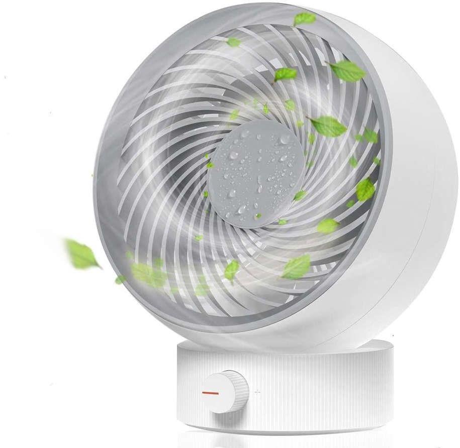 Przenośny wiatrak Alogy wentylator na biurko USB Biały