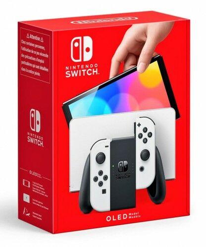 Konsola Nintendo Switch OLED Model White