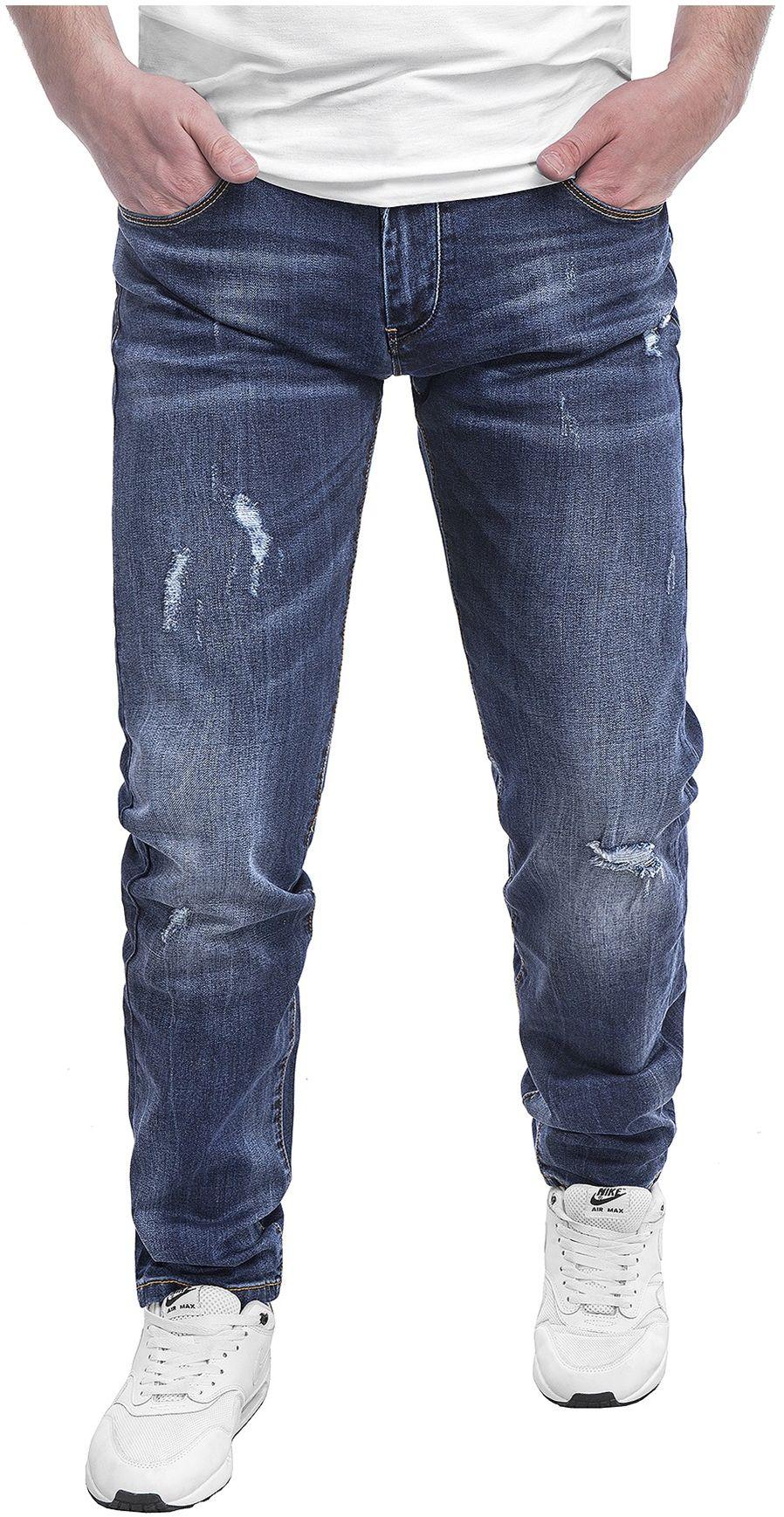Spodnie męskie jeansowe SM663