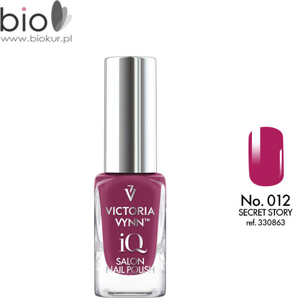 Lakier klasyczny Nail Polish iQ 012 PARFAIT PINK Victoria Vynn - 9 ml