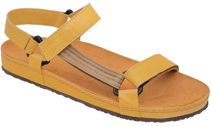 Sandały NIK 07-0090-002 Żółte BioForm Fussbett Jezuski
