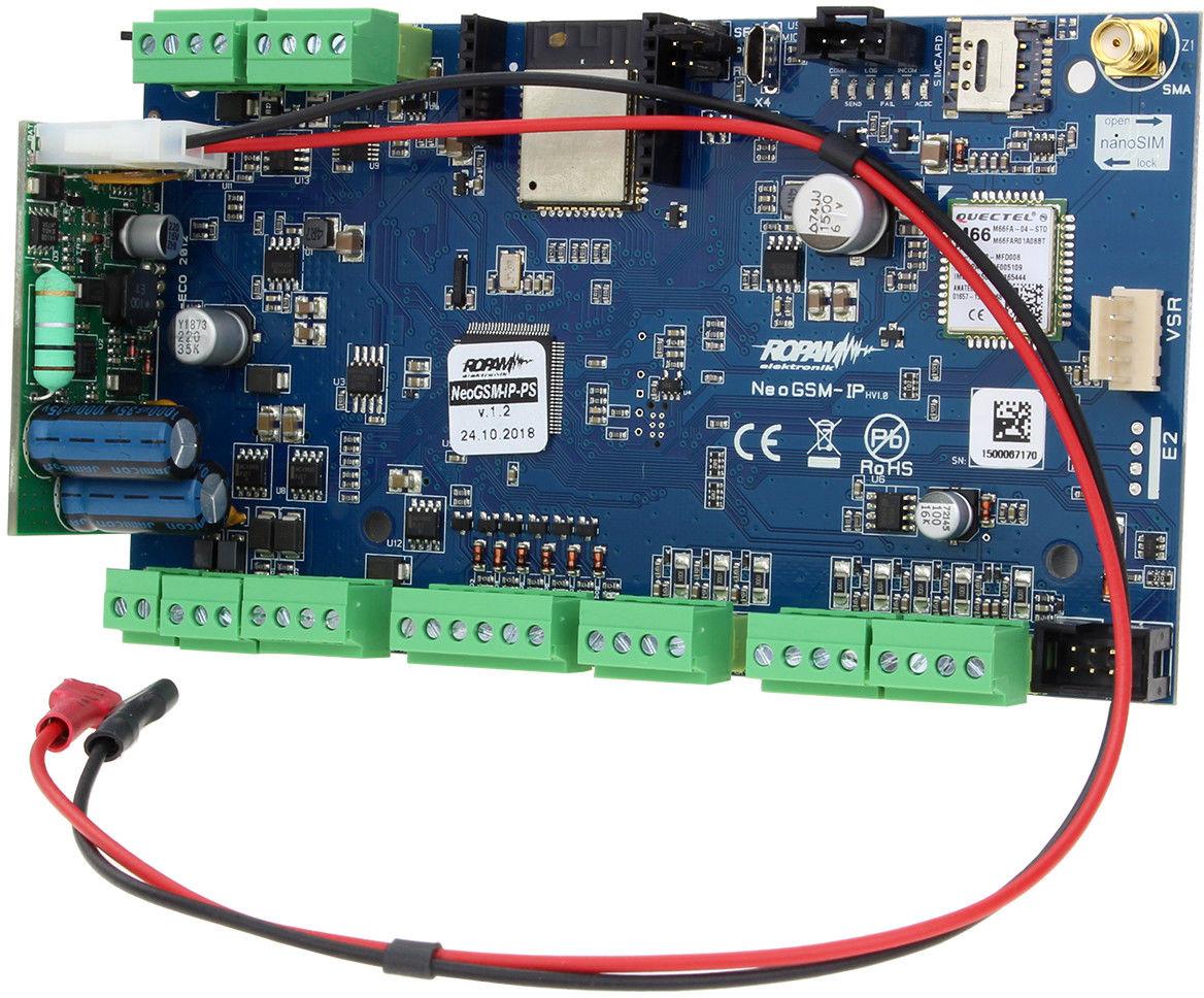 Ropam Elektronik NeoGSM-IP-PS centrala alarmowa (8/8 I/O, GSM, WIFI) - Szybka wysyłka, Możliwy montaż, Upusty dla instalatorów, Profesjonalne doradztwo!