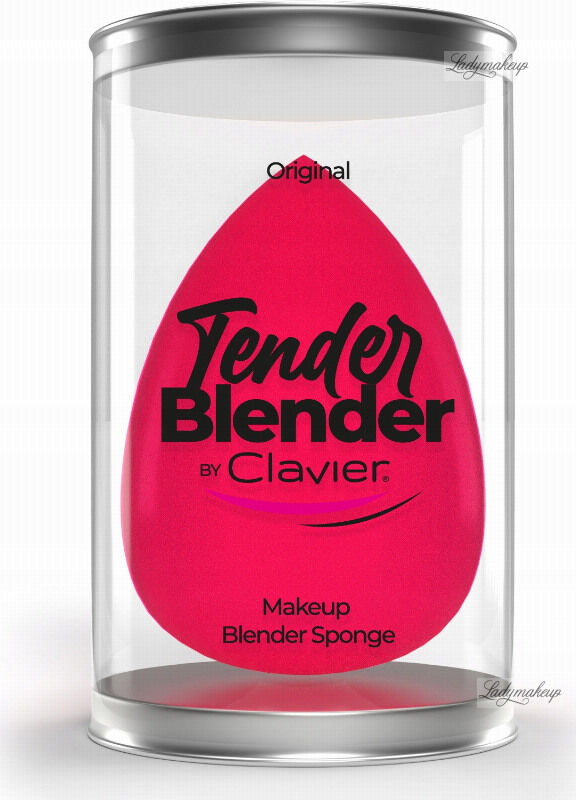 Clavier - Tender Blender - Gąbka do makijażu - Jajeczko - Różowa