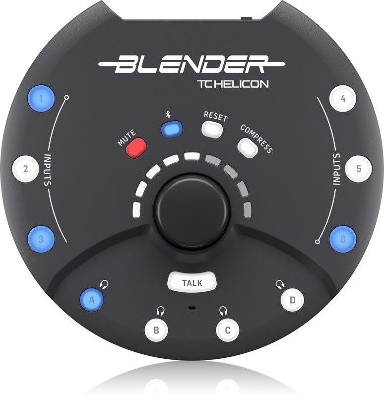 TC Helicon Blender Przenośny mikser stereo 12x8 z USB