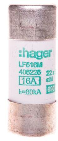 Bezpiecznik cylindryczny 22x58 aM 16A LF516M