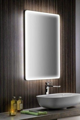 Lustro 50x70x3,2 cm z podświetleniem LED 230 V