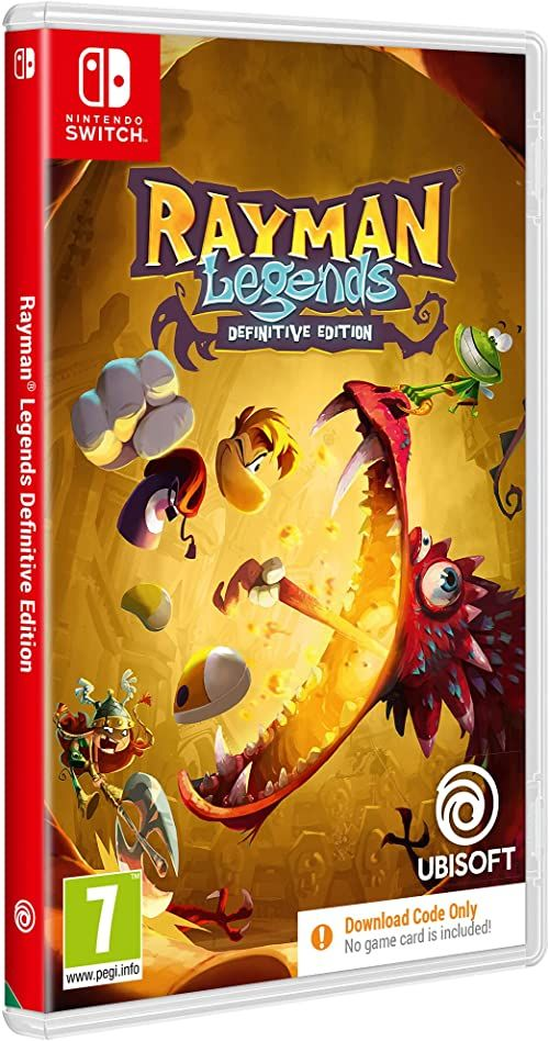 Ubisoft Rayman Legends Definitive Edition Code In a Box SWITCH (Nintendo Switch)