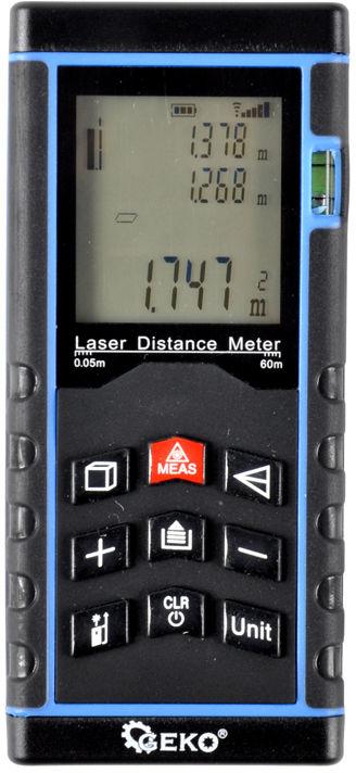 Dalmierz laserowy cyfrowy 60m miernik miara laser