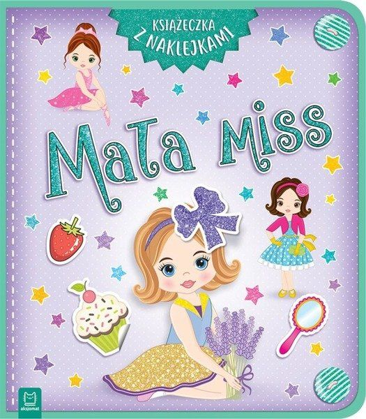 Mała miss Książeczka z naklejkami