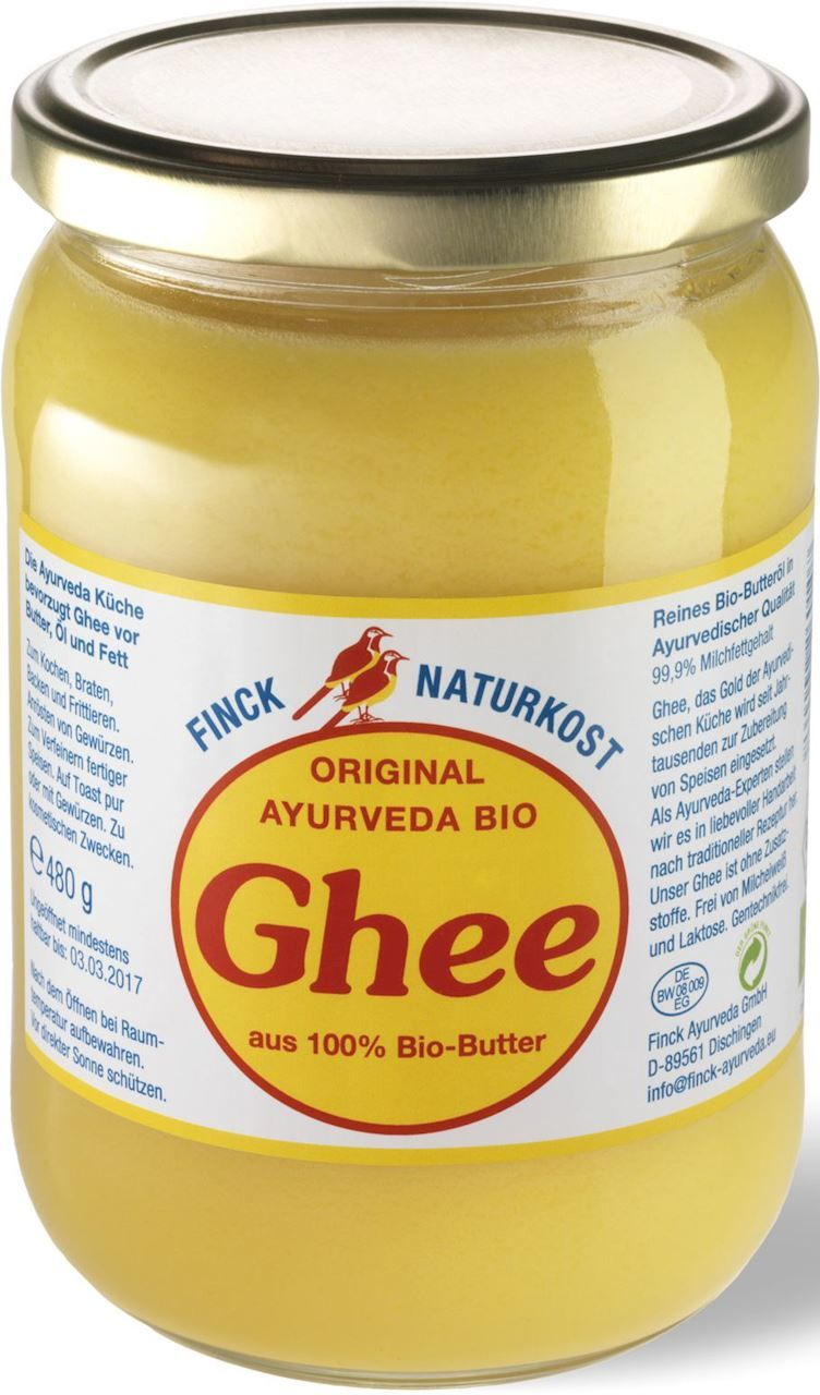 Masło Klarowane Ghee BIO 480g - Finck Naturkost