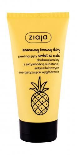 Ziaja Pineapple Body Scrub cellulit i rozstępy 160 ml dla kobiet