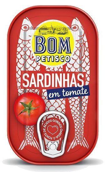 Sardynki w pomidorach 120g Bom Petisco