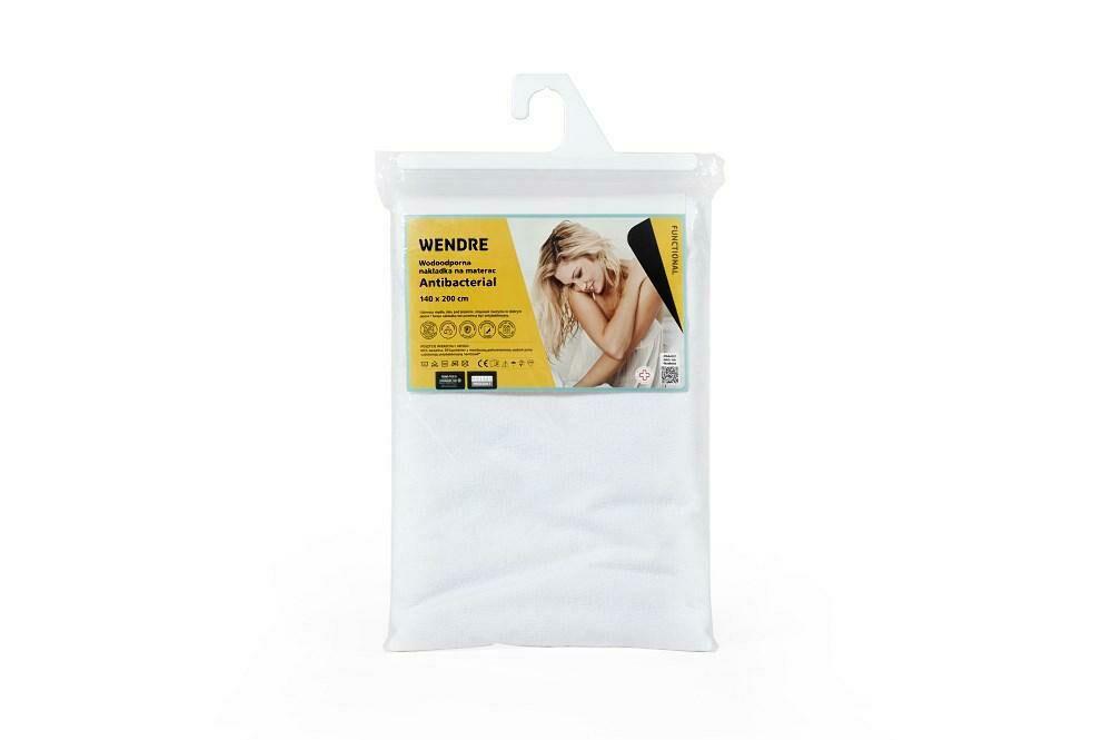 Podkład na materac 140x200 Antibacterial wodoodporny z substancją antybakteryjną Sanitized Wendre