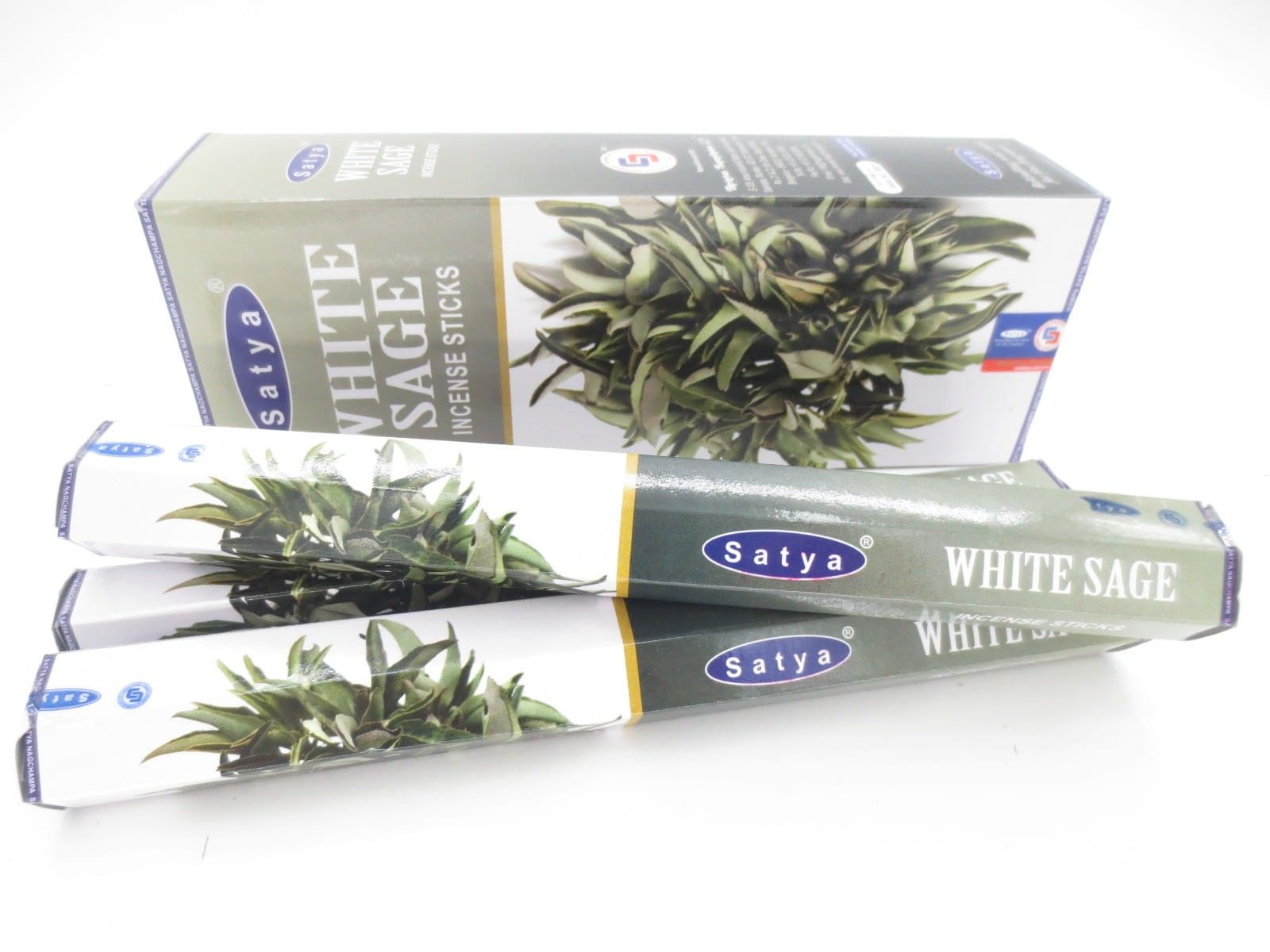 Kadzidełka Biała Szałwia White Sage Satya 20szt.