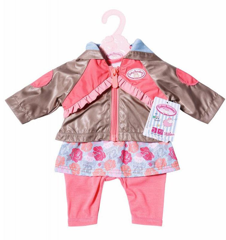 Baby Annabell - Ubranko 3-częściowe z brązową kurteczką 701973