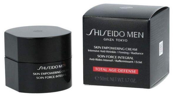 Shiseido Men Skin Empowering Cream Krem przeciwzmarszczkowy do twarzy - 50ml