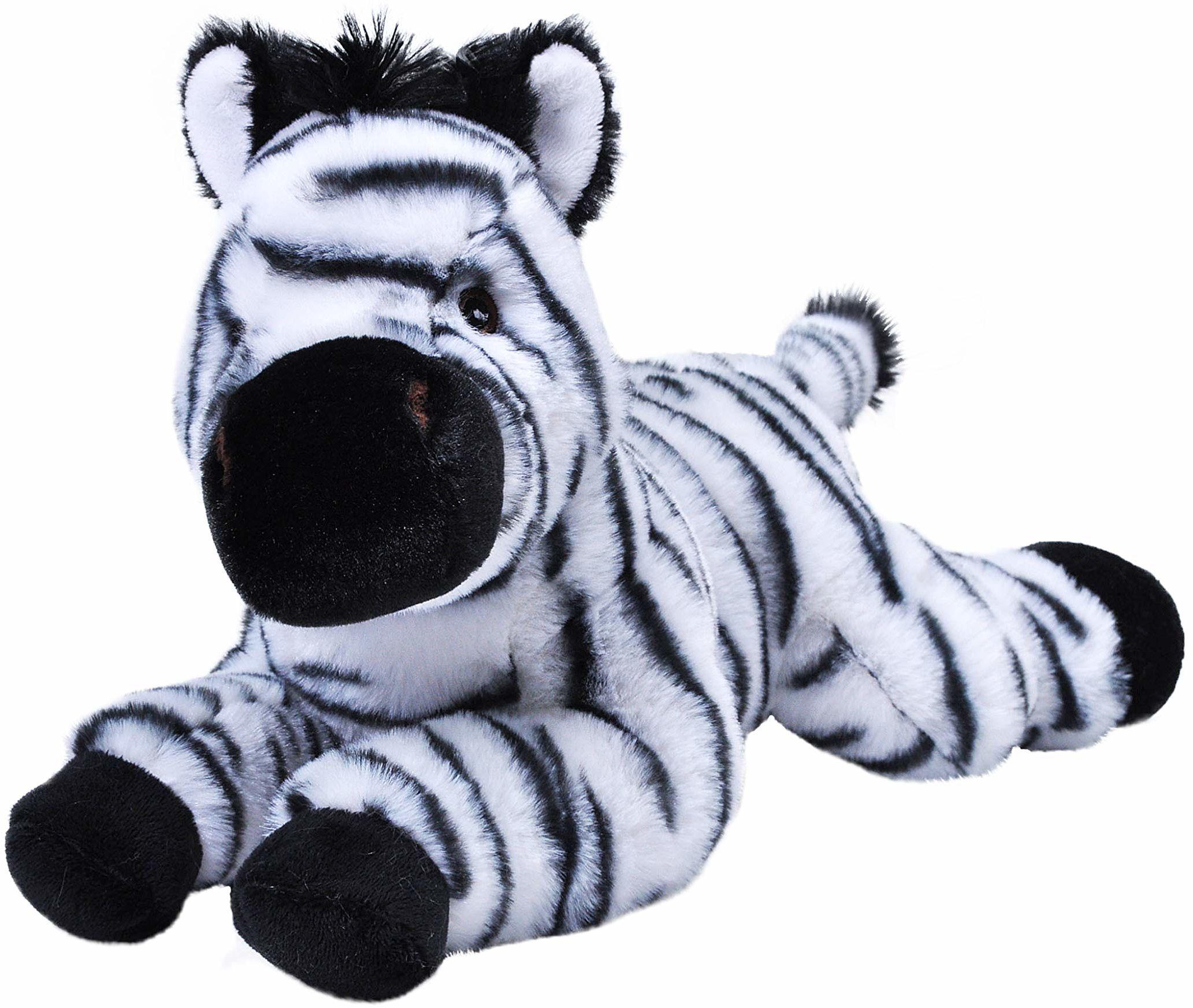 """Wild Republic 24763 Ecokins 12"""", Zebra"""