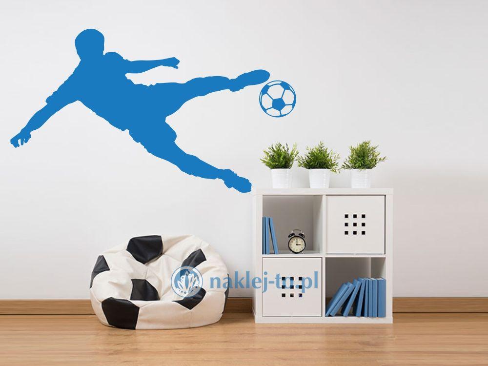 Piłkarz 2 naklejka naklejka na ścianę