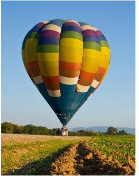 Lot balonem  Nałęczów