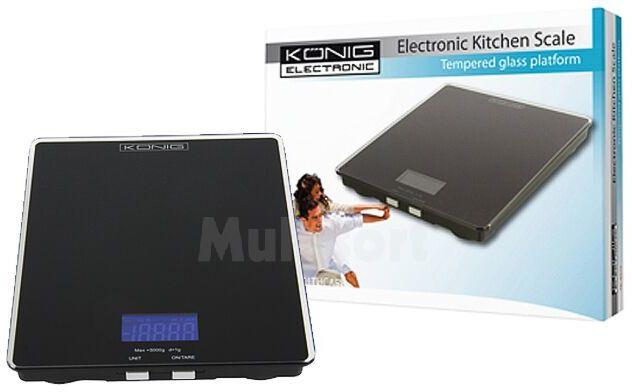 Elektroniczna waga kuchenna KÖNIG KS10