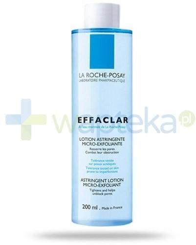 La Roche Posay Effaclar mikrozłuszczający tonik zwężający pory skóry 200 ml