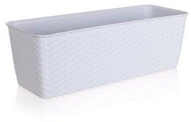 Donica samonawadniająca 40 cm biały