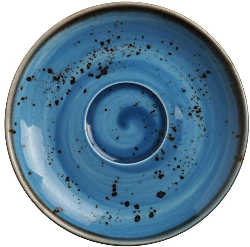 Spodek porcelanowy do filiżanki cappuccino Iris