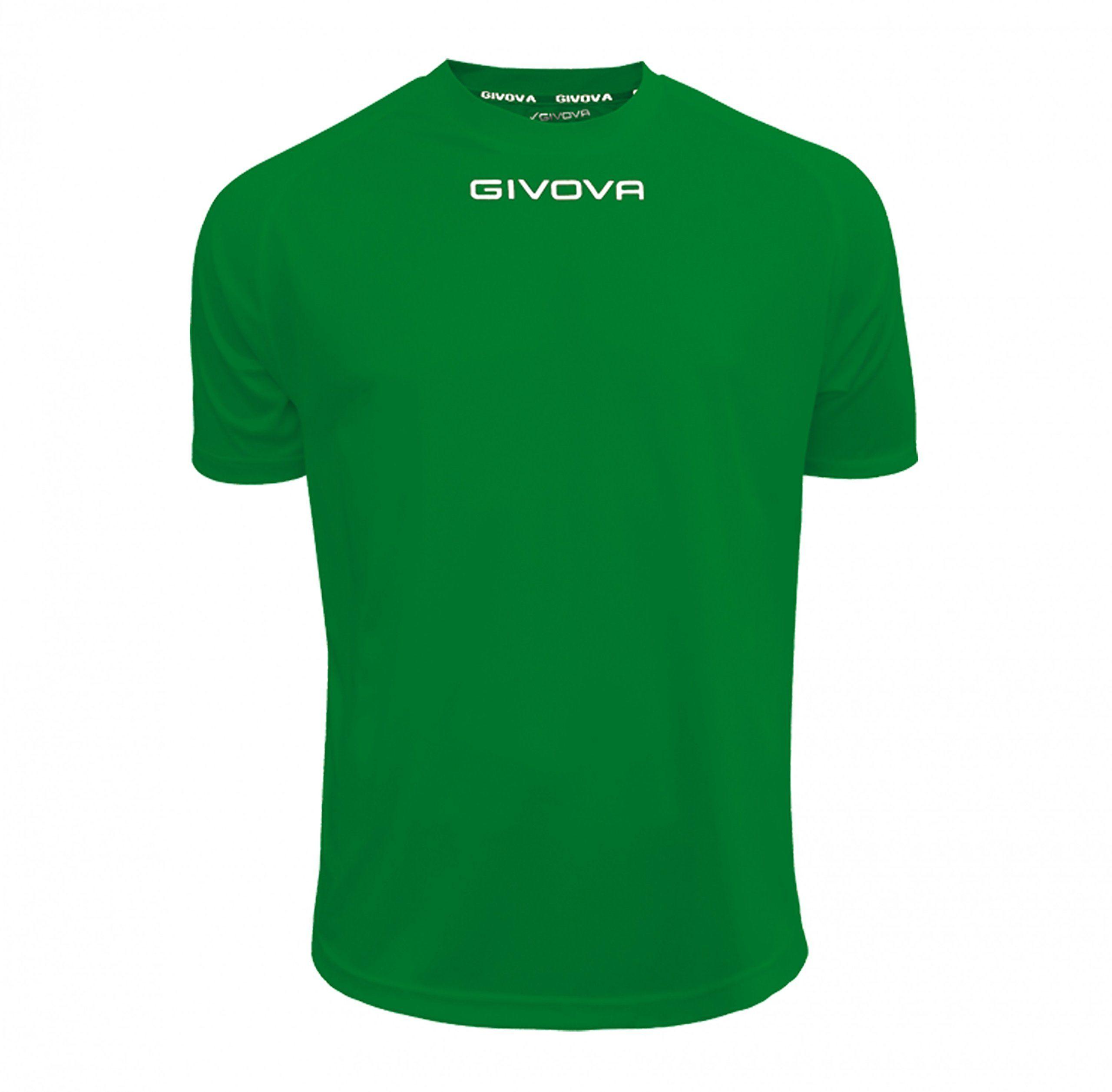 Givova - MAC01 koszulka sportowa, zielona, 2XL