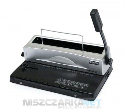 Bindownica do grzbietów drutowych Wallner HP 2108