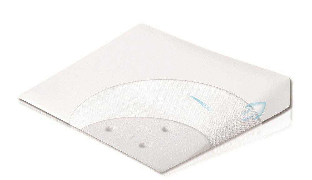 Poduszka dla niemowląt 60x36 Aero Klin biała