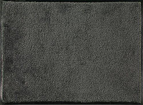 ID mat t c608002 confor dywan wycieraczka włókno nylon/guma nitrylowa ciemnoszara, szara, 60 x 80 cm