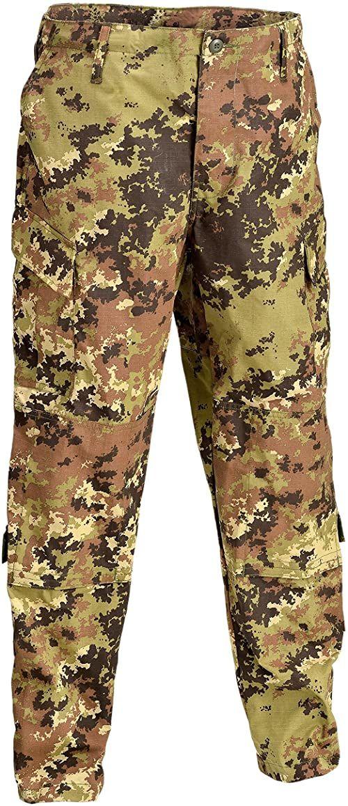 Defcon 5 BDU spodnie taktyczne, D5-1600 wielokolorowa Italian camo M