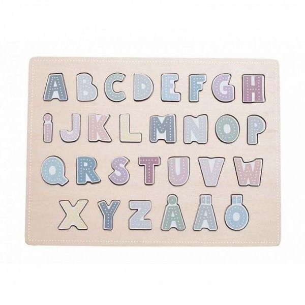 JaBaDaBaDo - Drewniane Puzzle Abecadło Jabadabado