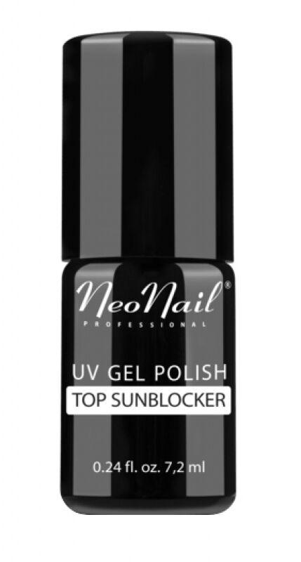 NeoNail - UV GEL POLISH - TOP SUNBLOCKER - Nawierzchniowy lakier hybrydowy