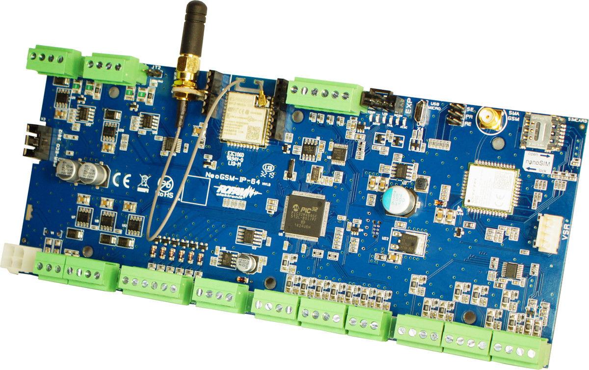 Ropam Elektronik NeoGSM-IP-64 centrala alarmowa (16/8 I/O, GSM, WIFI) - Szybka wysyłka, Możliwy montaż, Upusty dla instalatorów, Profesjonalne doradztwo!