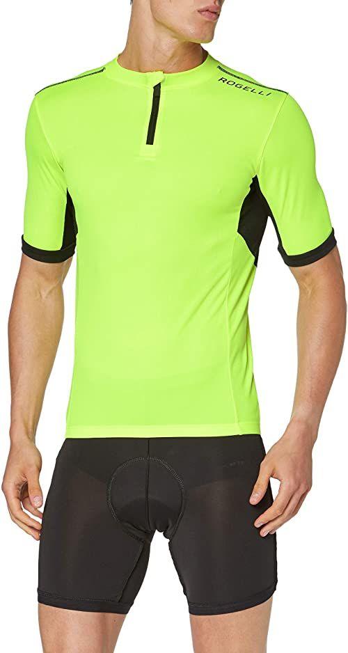 Rogelli Perugia 2.0 koszulka męska Fluor/Black XX-L
