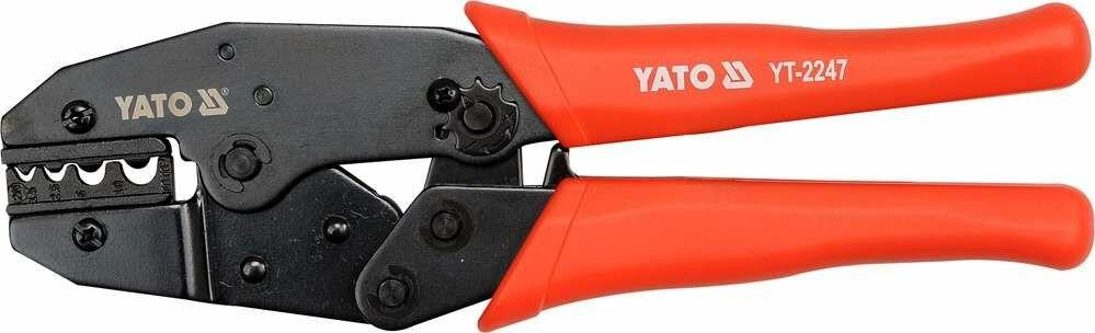 Szczypce do zaciskania konektorów 1.5-10 mm2 Yato YT-2247 - ZYSKAJ RABAT 30 ZŁ