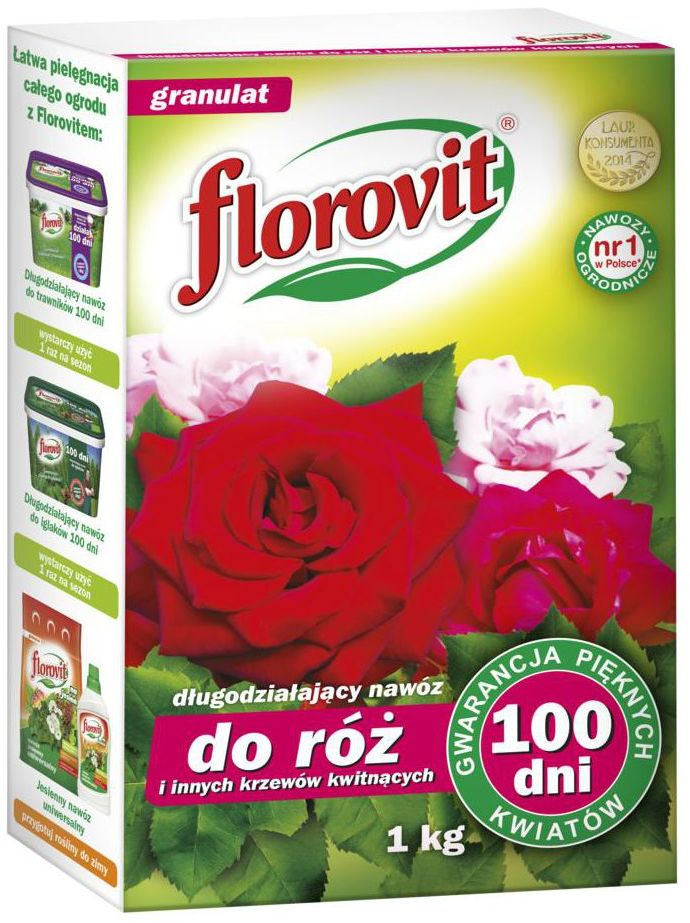 Nawóz do róż i roślin kwitnących 1 kg FLOROVIT