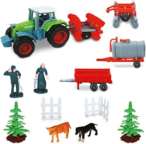 Mondo Traktor i akcesoria Gospodarstwo 58017, Kolor/model sortowane