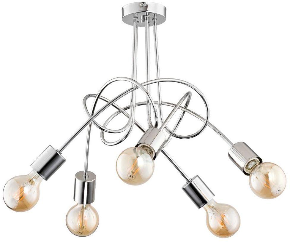 Lampa wisząca Tango chrom 5 x E27 Alfa