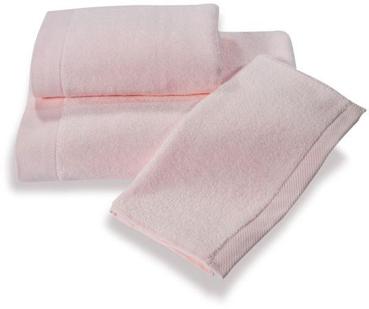 Mały ręcznik MICRO COTTON 32x50cm Różowy
