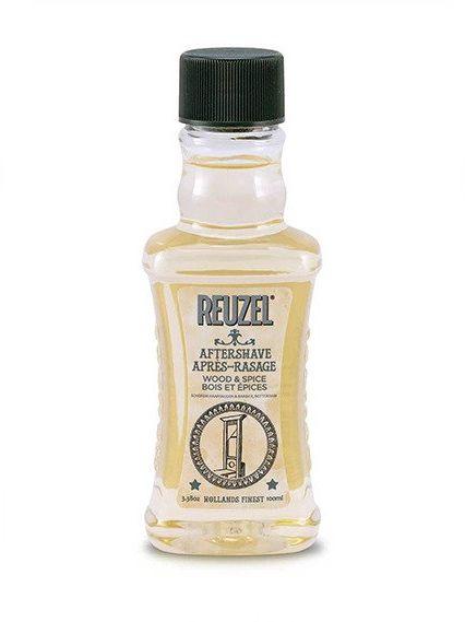 Reuzel Aftershave Wood & Spice - odświeżający płyn po goleniu 100 ml