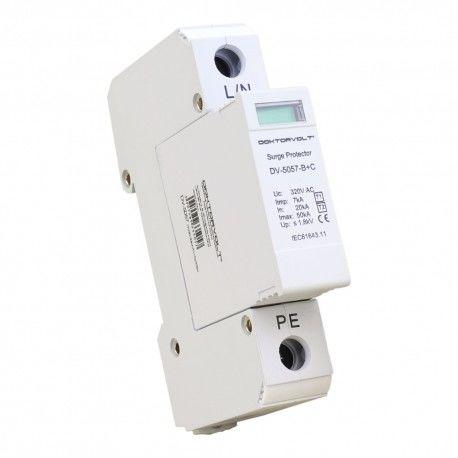 Ogranicznik przepięć ochronnik 1P 20-50kA AC T1/T2 Doktorvolt 5057