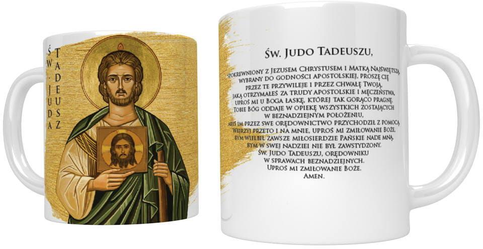 Kubek religijny święty Juda Tadeusz