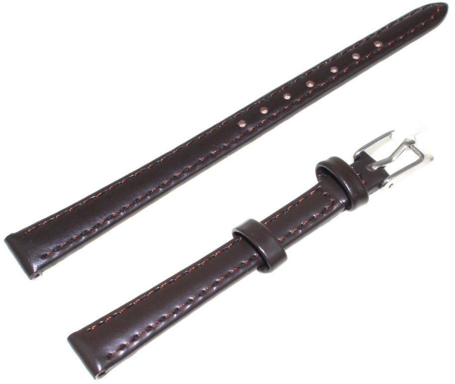 Skórzany pasek do zegarka 10 mm JVD R17502-10P XL