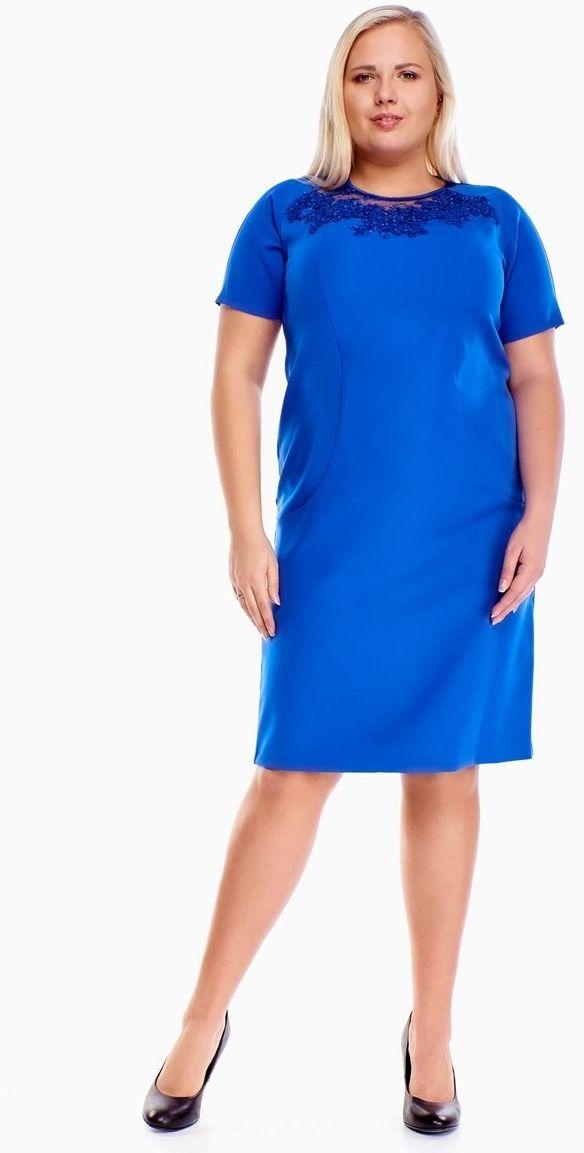 Sukienka FSU1014 CHABROWY CIEMNY