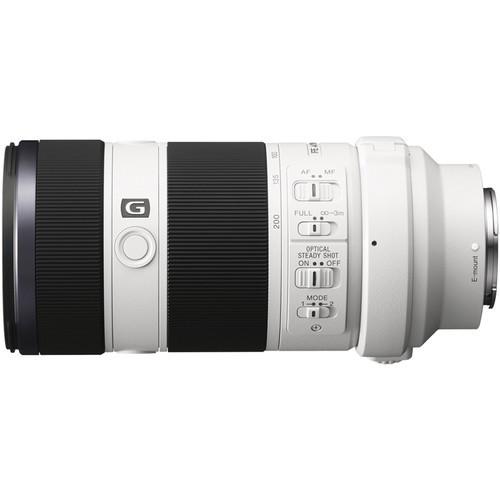Sony FE 70-200mm F4 G OSS - obiektyw zmiennoogniskowy, SEL70200G Sony SEL70200G